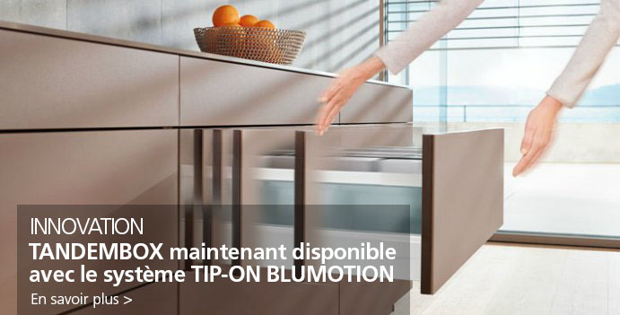 Tandembox Tip-On Blumotion