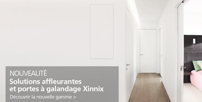 Portes affleurantes Xinnix
