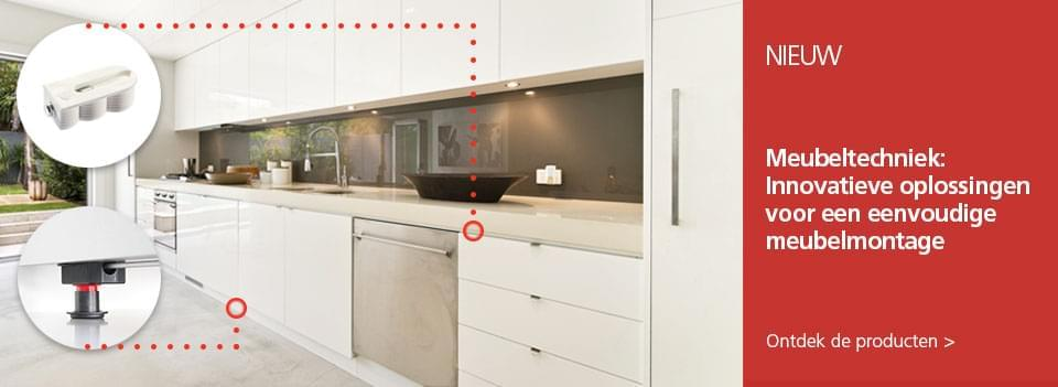 Meubeltechniek - Innovatieve oplossingen voor een eenvoudige meubelmontage.