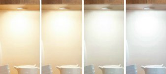 Spot LED blanc ajustable