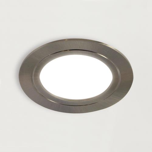 LED-Einbauleuchte Plug 12 V, rund