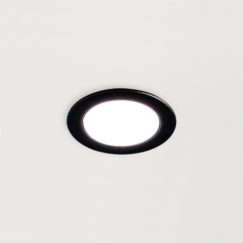 Spot LED 12v 35mm noir