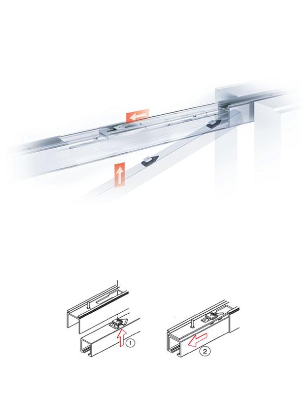 Montage rail