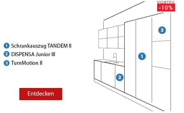 Pack 6 TANDEM - DISPENSA Junior III