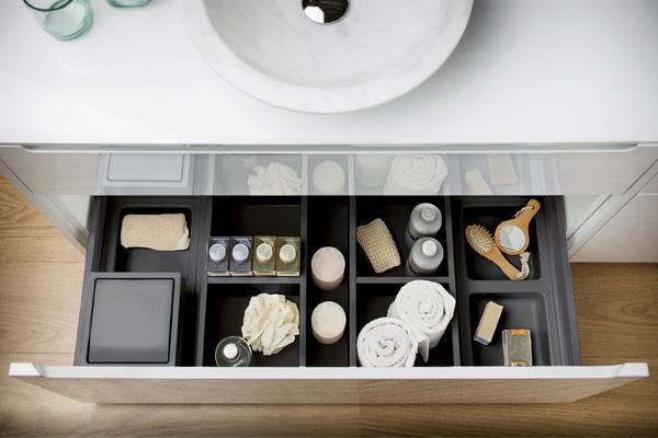 Badezimmer-Ordnungssystem ONDA
