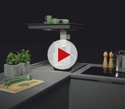 Rangement cuisine meuble angle