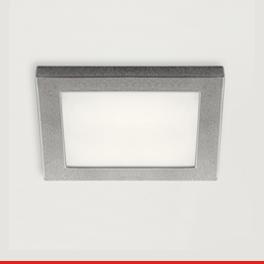 Spot LED carré en applique 12 V