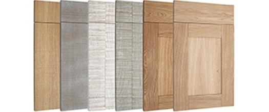 Nouvelles façades en chêne brut