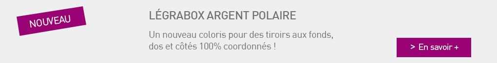 LEGRABOX argent polaire