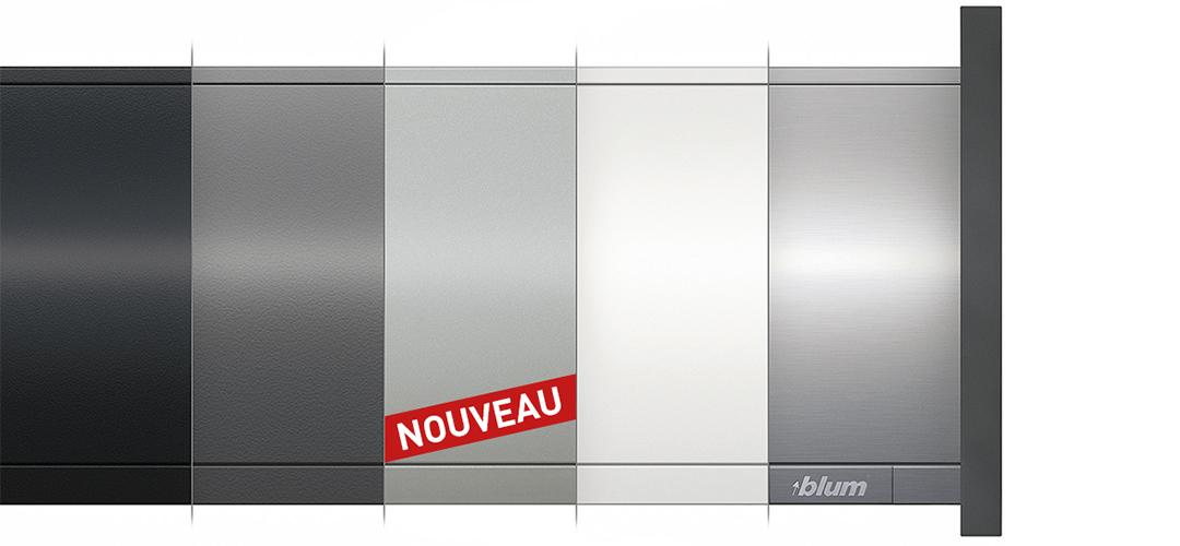Nouevau coloris de tiroirs LEGRABOX argent polaire