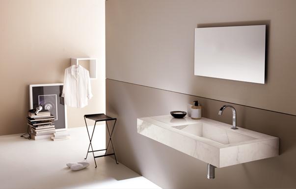 Plan et vasque ceramique salle de bain