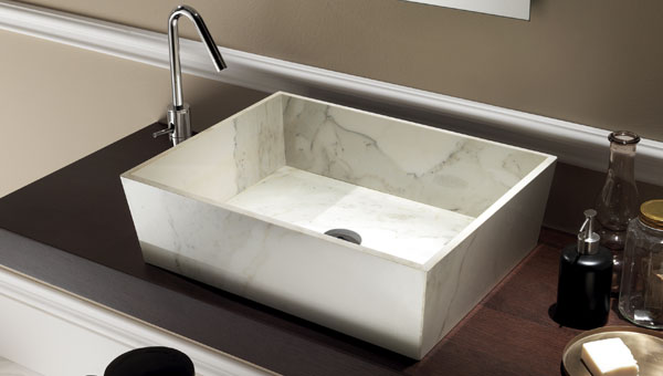 Vasque ceramique wash house