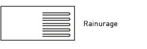 Faconnage rainurage evier