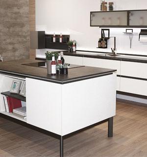 chassis Frame noir pour ilôt central de cuisine
