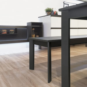 schwarz FRAME für Tisch und Bänke