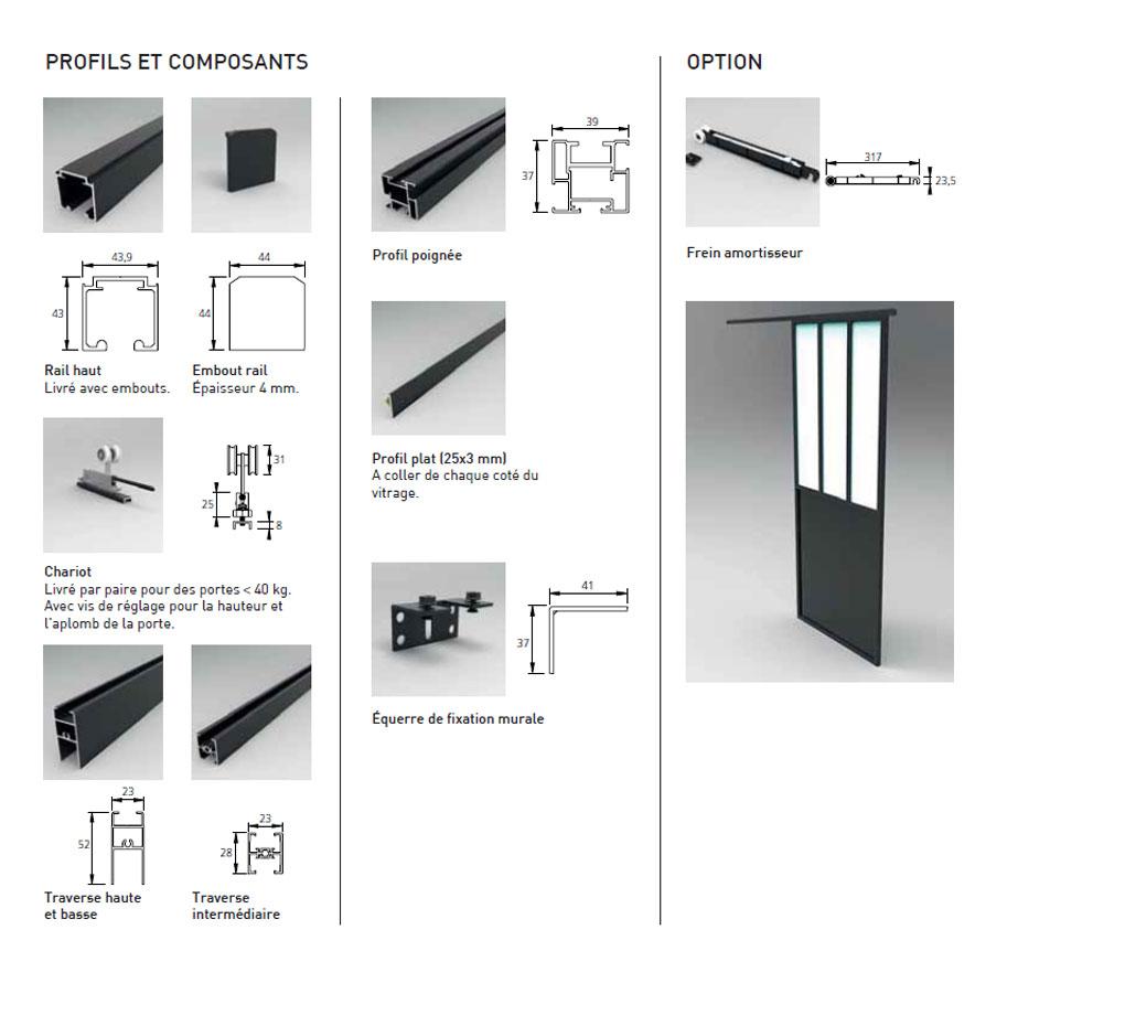 Porte verri re d 39 int rieur sur mesure achat optima - Porte d interieur sur mesure ...